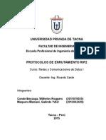 Protocolos de Enrutamiento Rip2