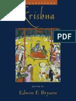 Bryant Edwin F. (Editor) - Krishna a Sourcebook
