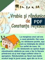 Vrabia Si Randunica