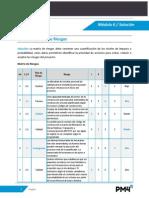 Modulo 6 Respuesta Matriz de Riesgos
