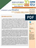 ACB Ley de Precios Justos LAHO