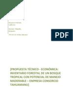 Trabajo Manejo Practica Propuesta Tecnico Economica Final