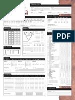 3.5 Dnd Dragonlance d20 Character Sheet 1.2