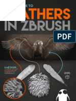 Creating Feathers in ZBrush