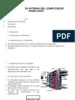 Arquitectura Interna Del Computador