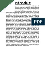 Monografía Cancer de Piel