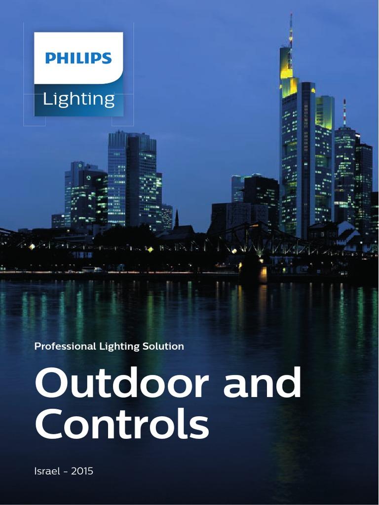 philips catalog outdoor luminaires israel light. Black Bedroom Furniture Sets. Home Design Ideas