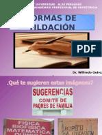 Unidad II a Normas de Tildaciòn Uap Dr. Quiroz 2015 Obstetricia