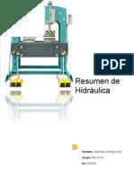 Resumen de Hidrahulica