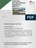 Operatividad de Vías