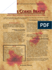 Teclis Codex 1 - Beasts