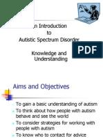 Autism Presentation for FCM