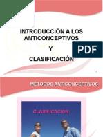 Clasificación anticonceptivos