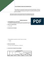 Estadisticas Parametricas