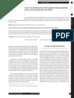 El Papel de La Prensa en La Construcción de La Democracia Española de a Muerte de Franco a La Constitución de 1978