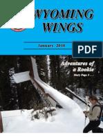 Wyoming Wings Magazine, January 2010