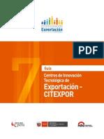 7.Centros de Innovacion-tecnologia de Exportacion-citexpor