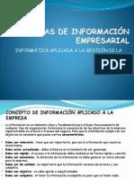 CLASE 1.1 Sistemas de Información