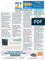 Pharmacy Daily for Mon 07 Sep 2015 - Shared opioid approach, Hospital antibiotic usage, Suboptimal medicines cause hospitalisations, Weekly Comment and much more