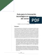 innovación tecnologica