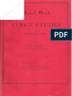 Vingt Etudes Marcel Bitsch