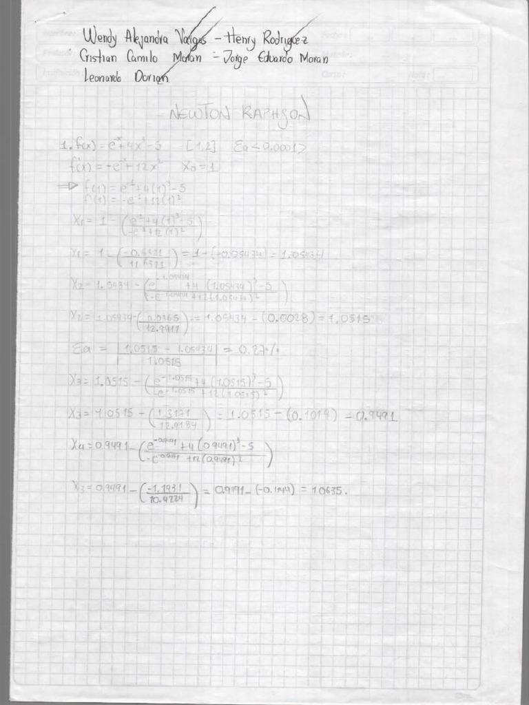 Solucionario Libro Metodos Numericos para ingenieros de