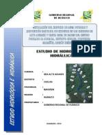 Memoria Hidrologia e Hidraulica - Alto Aguashi