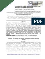 Pequeno Esboço Histórico Do Sistema de Produção Capitalista - A Reificação Do Homem e Da Natureza (Texto 01)