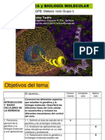 Clase Bio Molecular Tema i Introduccion