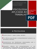 Psicologia Aplicada Ao Trabalho