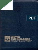 Aeronautical Vestpocket Handbook, Pratt & Whitney, 22nd Edition, Sep 1991
