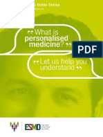ESMO Patient Guide Personalised Cancer Medicine