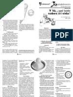 No 3, p 25, Qué Tanto Sabes Del Sida