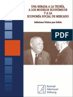 AA.vv. Una Mirada a La Teoría, A Los Modelos Económicos y a La Economía Social de Mercado