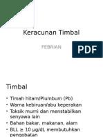 Keracunan Timbal