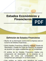 Estados Económicos y Financieros