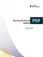 Benchmark Factory User Guide 6-8-1