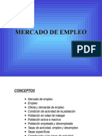 Mercado de Trabajo Abril