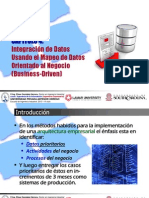Integración de Datos Usando El Mapeo de Datos Orientado Al Negocio s6