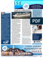 Cruise Weekly for Mon 07 Sep 2015 - CLIA Cruise Week special edition