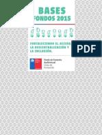 Audiovisual Bases Fondos 2015 Formacion