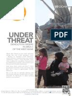 150906 Rapport Ocha Demolition Zone c