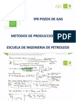 IPR - Pozos de Gas I-2015