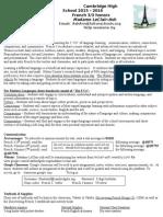 french 3 syllabus 2015-16