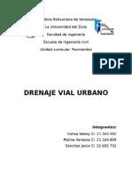 Drenaje Vial Urbano.