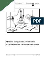 Practicas de Química Inorganica Experimental