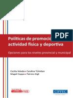 Estudio Politicas de Promocion de La AF