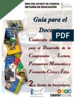 Cuadernillos de Apoyo 2c2b0 Sec Doc 2013 Chiapas