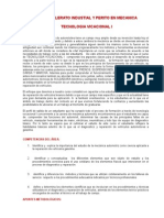 Nuevas Mallas Tecnologia i, II, III