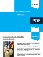 Re-Acreditación Con ASIIN 2014-2